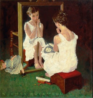 norman_rocwell-girl_at_mirror-1954