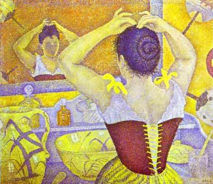 paul-signac-woman-at-her-toilette-wearing-a-purple-corset